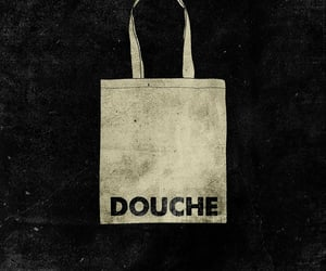 douche, DOUCHEBAG, and insults image
