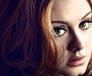 Adele, fashion, and makeup image