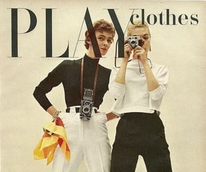 50s, catalogue, and chic image