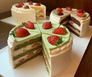 cake, mango, and yummy image