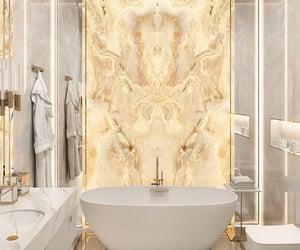 aesthetic, bathroom, and luxury image