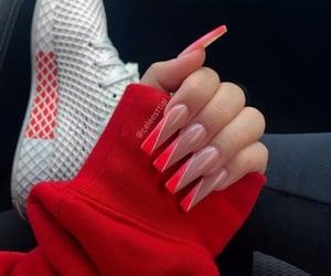 design, long nails, and nails image