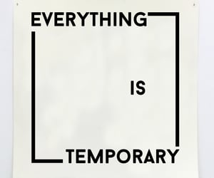 everything, temporary, and words image