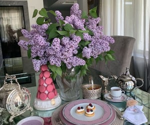 brunch, cakes, and coffee image