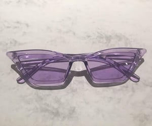 purple, aesthetic, and sunglasses image
