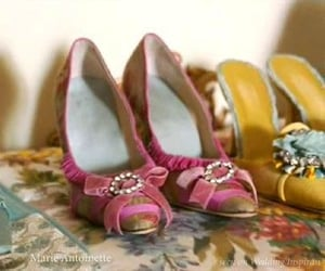 marie antoinette, shoes, and pink image