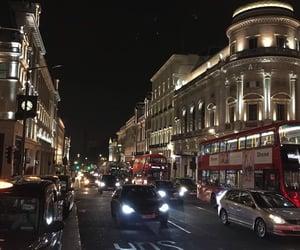 city, night, and car image