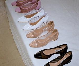 fashion, kitten heels, and shoe wear image