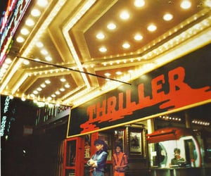 thriller, michael jackson, and music image