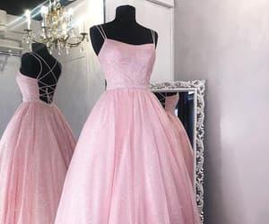 evening dress, fashion, and girl image