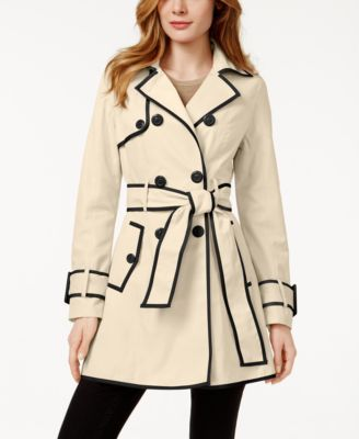 beige, black, and trench image