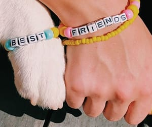best friends and dog image