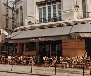 cafe, paris, and theme image