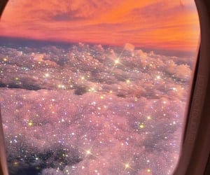 sparkle, clouds, and sky image