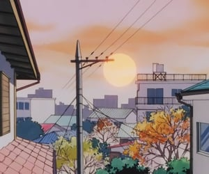 anime, touch, and anime scenery image