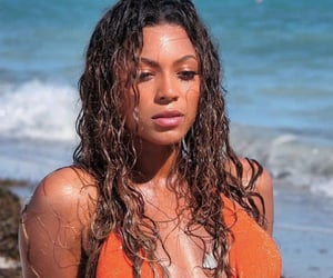 beach, photo shoot, and beauty image