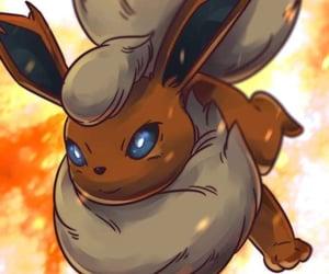 pokemon, flareon, and eevee image
