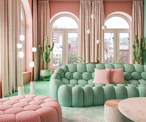 decor, aesthetic, and green image