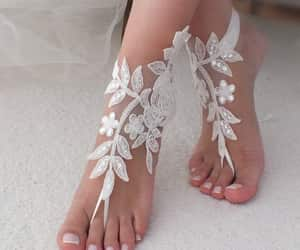 etsy, bridal shoes, and foot jewelry image