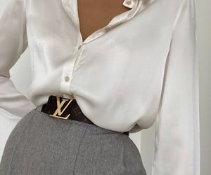outfit, fashion, and Louis Vuitton image