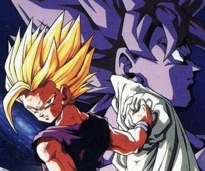 anime, goku, and wallpaper image