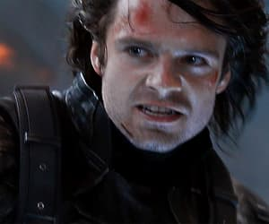captain america, winter soldier, and gif image