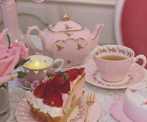pink and tea image