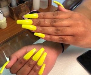 nails, beauty, and summer image