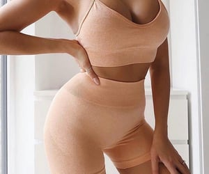 fashion, top, and peach image