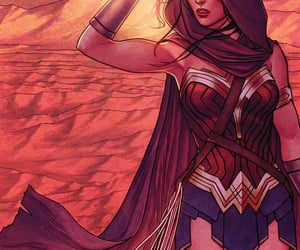 wonder woman, comic, and dc comics image