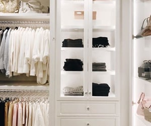 closet, home, and home decor image
