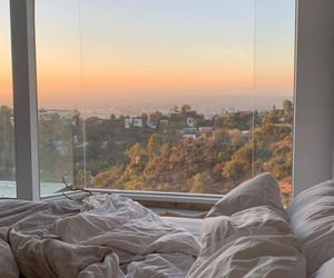 view, bedroom, and bed image