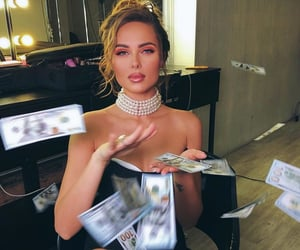 money and pretty image