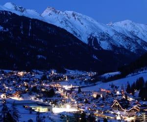 snow, austria, and winter image