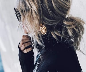 blogger, fashion, and hair style image