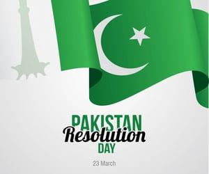 pakistan, pakistani, and pakistan resolution day image