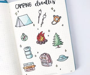 doodle tutorial, bujo, and bullet journal image