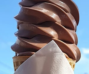 candy, chocolate, and cream image
