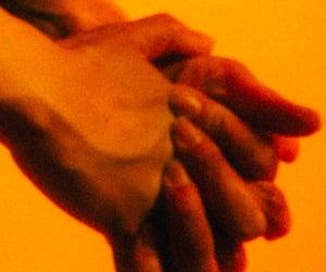 love and orange image