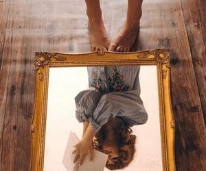 aesthetics, mirror, and fashion image