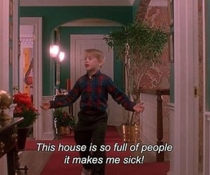 home alone, movie, and quotes image