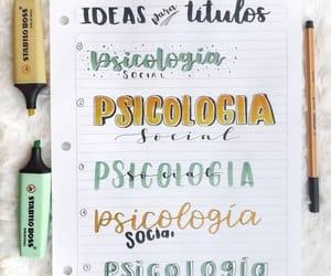 agenda, lettering, and bullet journal image