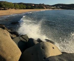 playa, méxico, and beach image