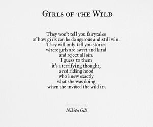 girl, quotes, and nikita gill image