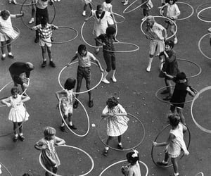 vintage, kids, and black and white image