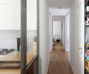 apartment, modern, and corridor image