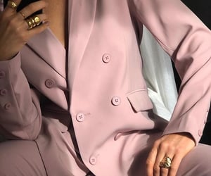 rings, suit, and classy clothes image