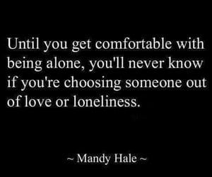 quotes, love, and loneliness image