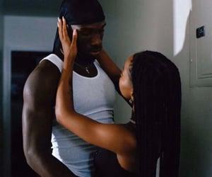 couple, melanin, and durag image