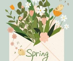 art, illustration, and spring image